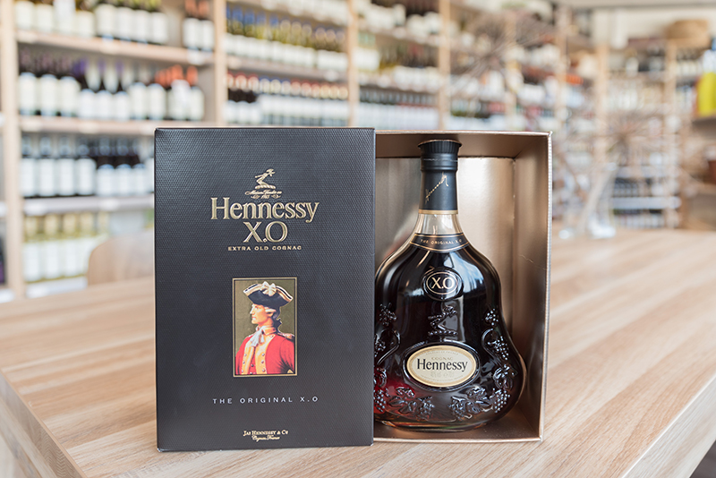 Cadeauverpakking fles Cognac