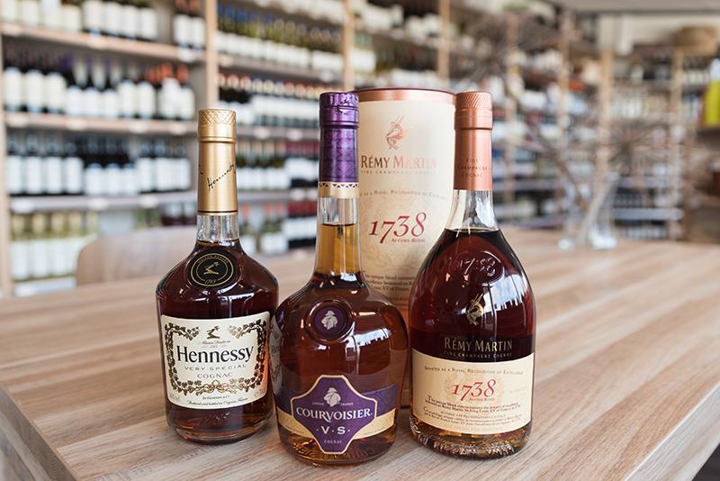 flessen Cognac